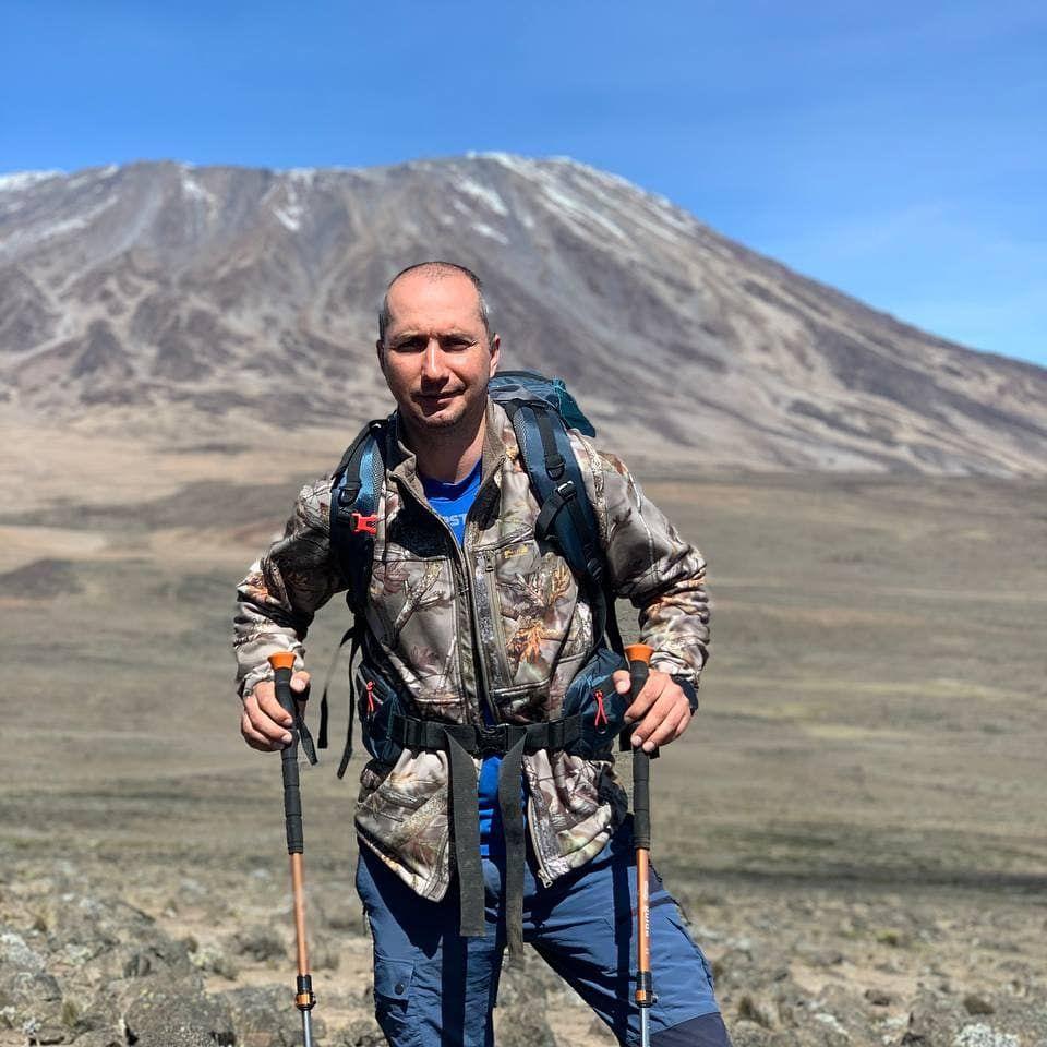 У подножия Килиманджаро.