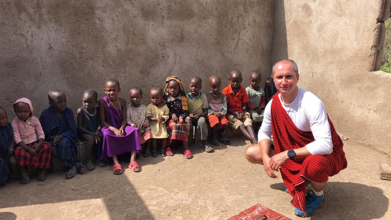 Россияне побывали в африканских школах