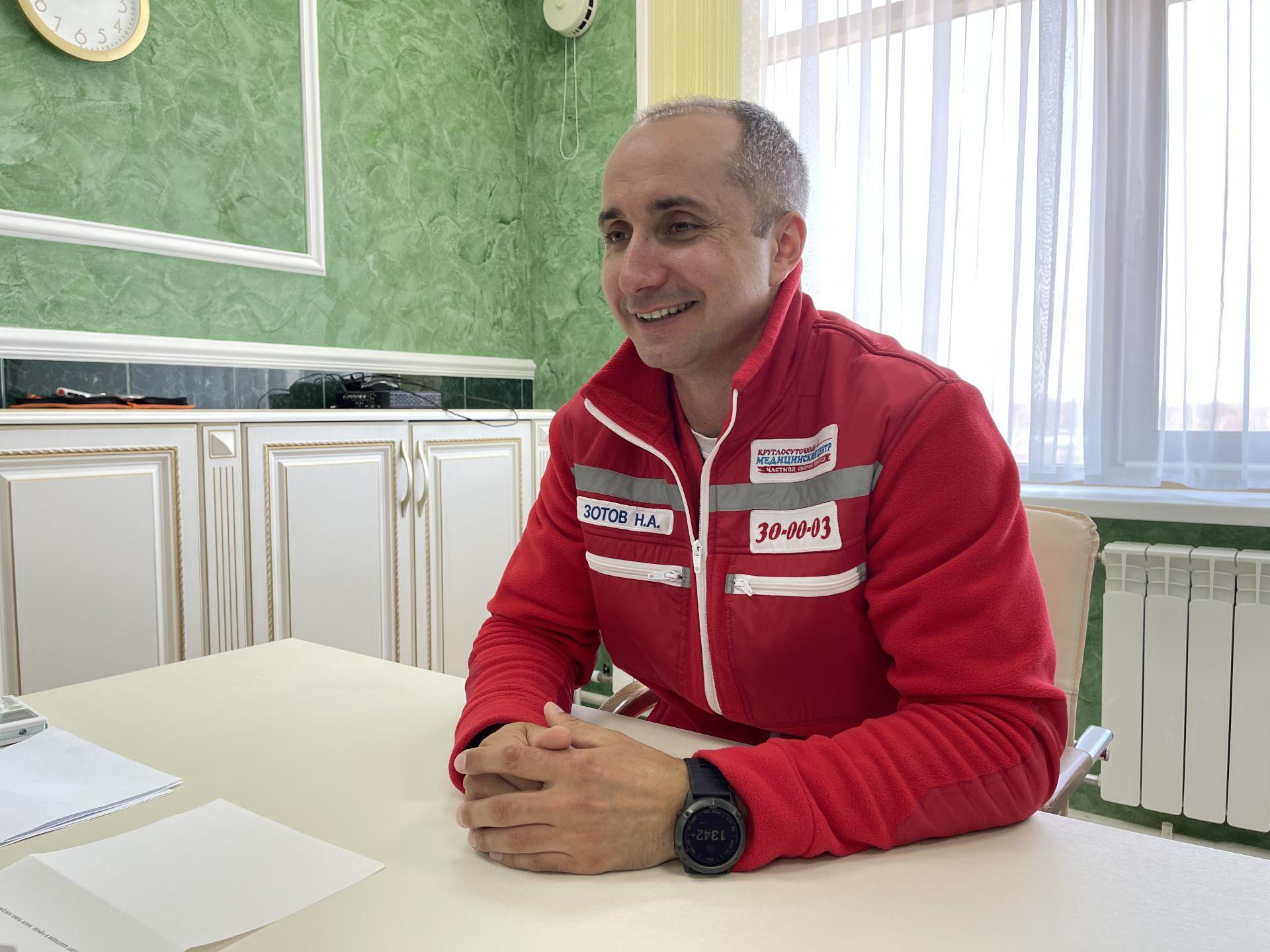 Челнинский врач Николай Зотов планирует в этом году покорить Казбек