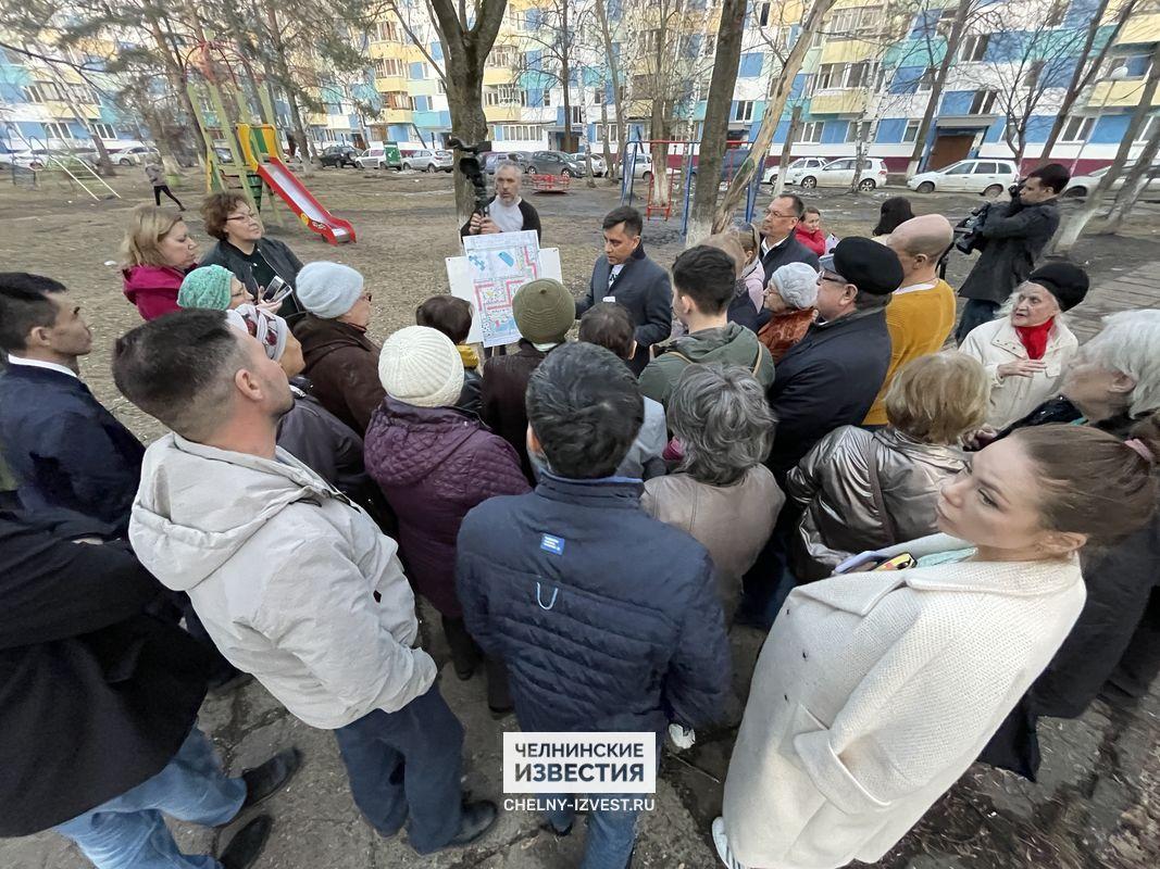 Обсуждение благоустройства двора во 2 комплексе Челнов