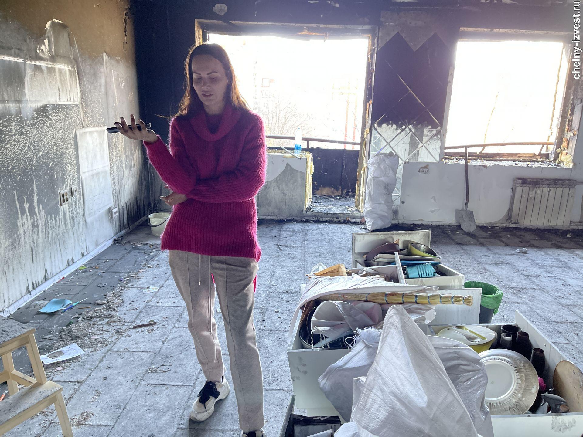 пожар в 41 комплексе в Челнах