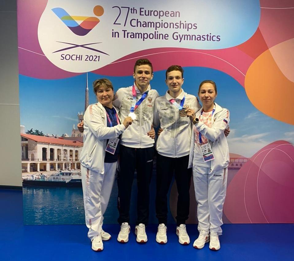 Спортсмен из Набережных Челнов выиграл медаль чемпионата Европы по прыжкам на батуте