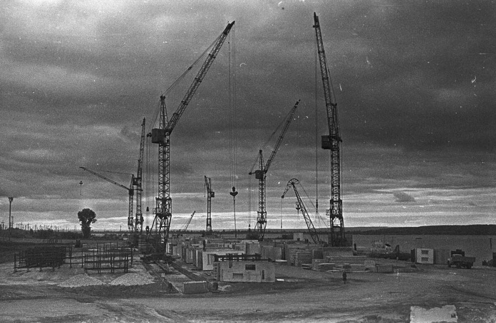 История: где находился промышленный речной порт «КАМАЗа» до подъема Камы