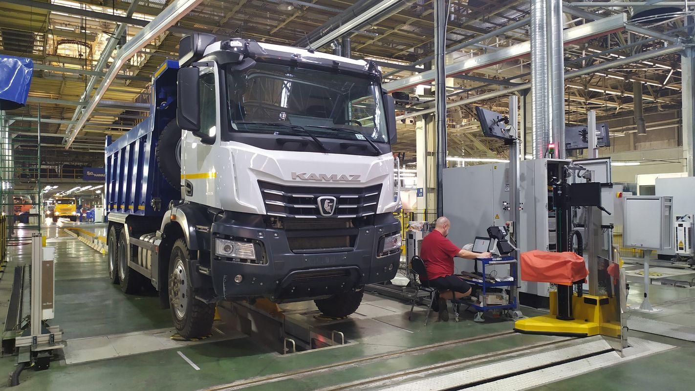 На КАМАЗе ввели новую линию для испытания грузовиков
