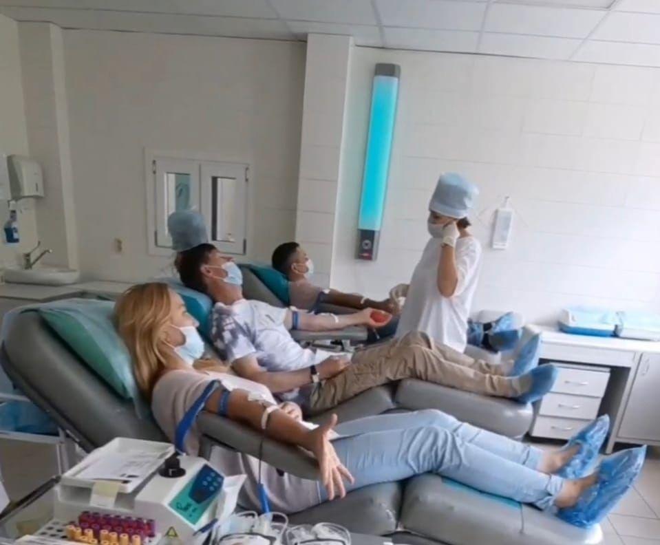 Камазовцы сдали более 14 литров крови для нуждающихся