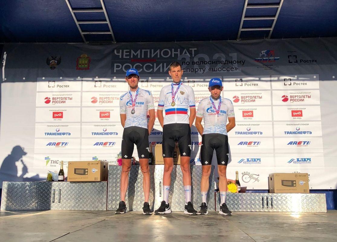 Челнинский велогонщик Ильнур Закарин взял серебро на чемпионате России