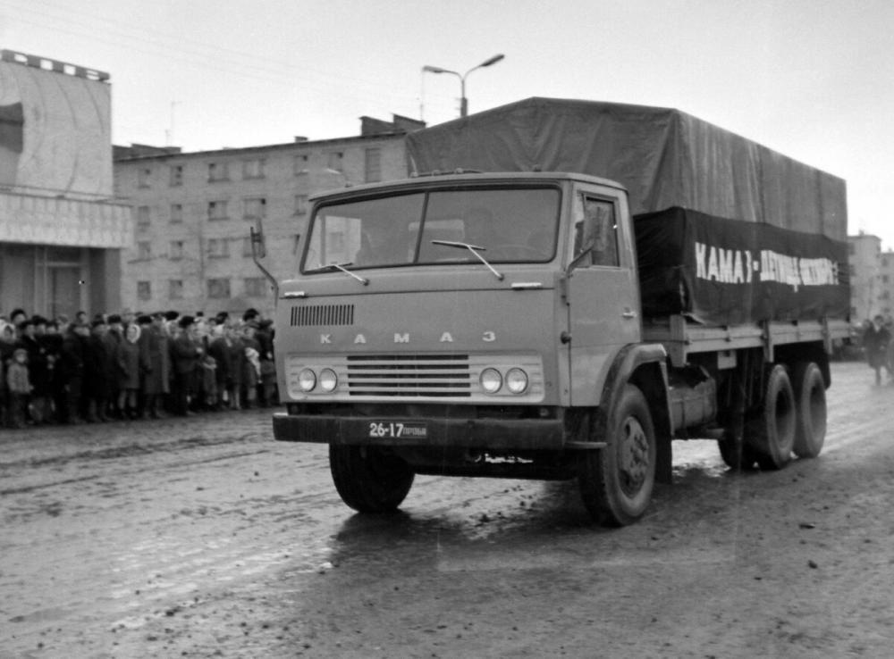 История: грузовик «КАМАЗ» побывал в Набережных Челнах за пять лет до производства