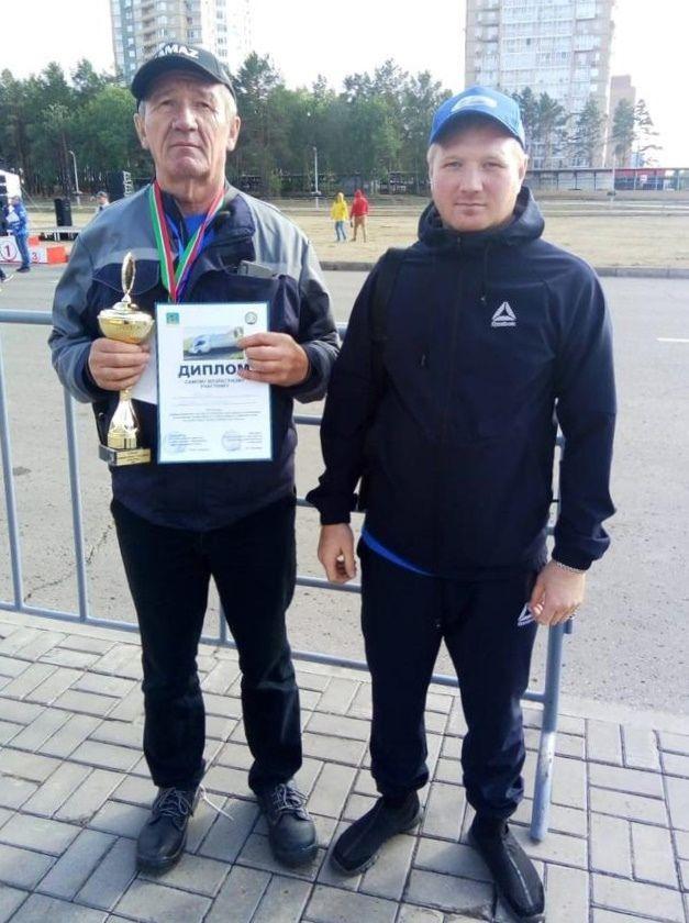 Камазовцы победили в конкурсе среди водителей грузовиков