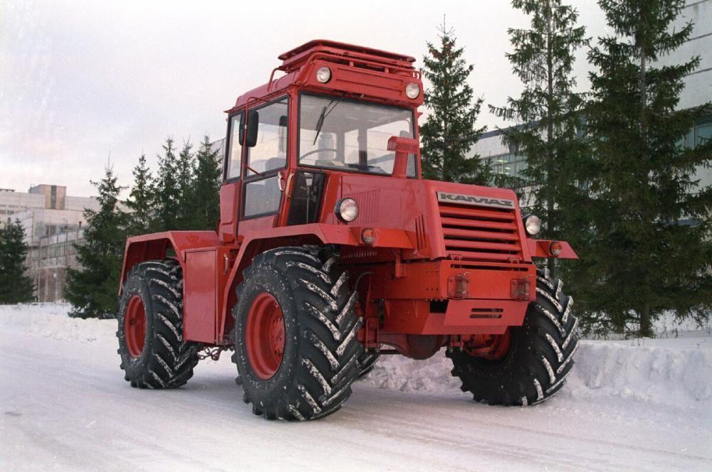 История: как журналисты прозвали камазовский трактор