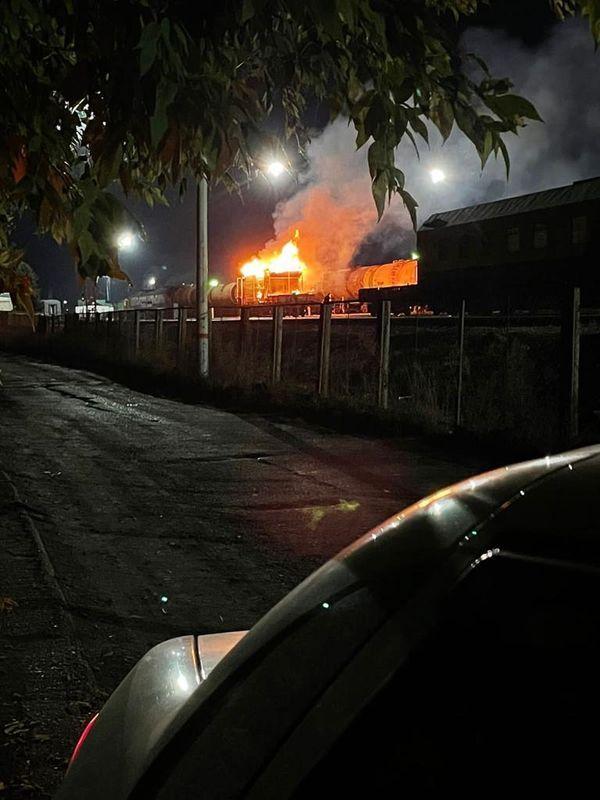Под Набережными Челнами в поезде сгорела баня