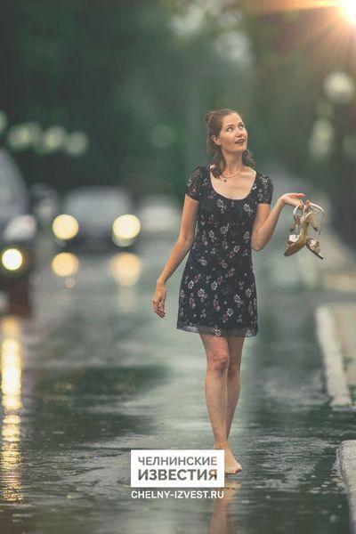 Выходные с зонтом: в Набережных Челнах обещают дождь и грозу