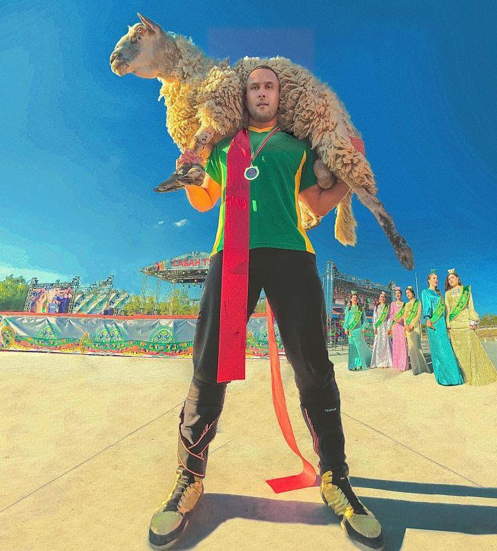 Батыр челнинского Сабантуя-2021 – потомок циркового силача