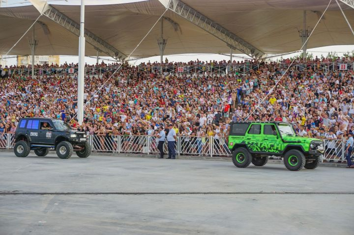 День молодежи в Набережных Челнах посетили около 100 тысяч человек