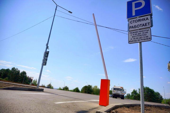 Парковку возле майдана в Набережных Челнах сделают платной