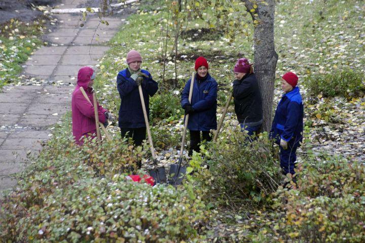 Мэры комплексов в Челнах  ходят по судам и сажают елки
